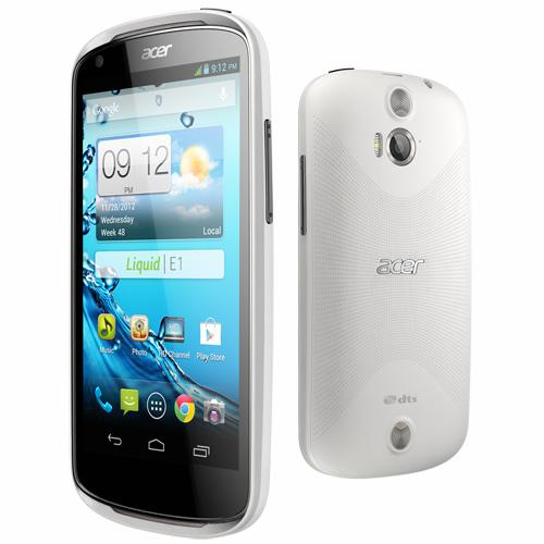 Acer Liquid E1 Duo Double SIM Pearl White