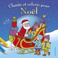 Les plus beaux chants de Noël à colorier   broché   Collectif