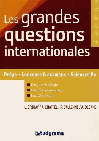 Les grandes questions internationales