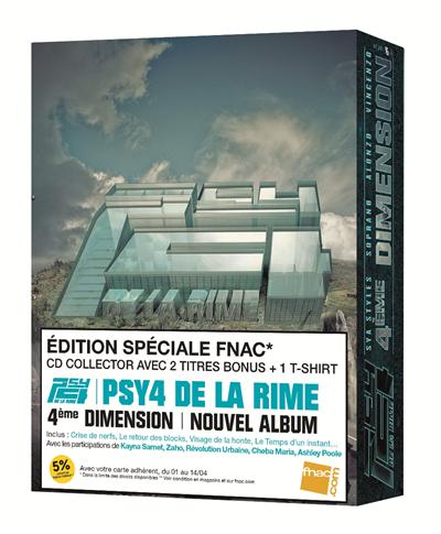 album de psy4de la rime 4eme dimension