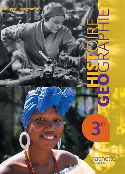 Histoire-Géographie 3e - Livre élève Grand format
