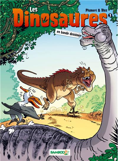 Les Dinosaures en BD - nouvelle édition