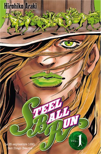 Jojo s - steel ball run - tome 1
