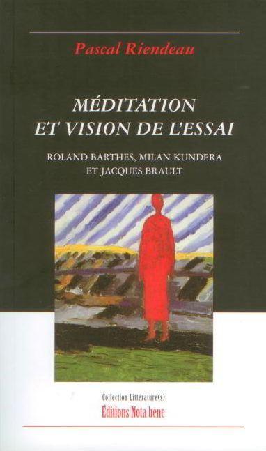 Méditation et vision de l'essai