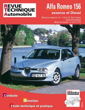 Revue technique automobile 627.1 Alfa Romeo 156 essence et Diesel