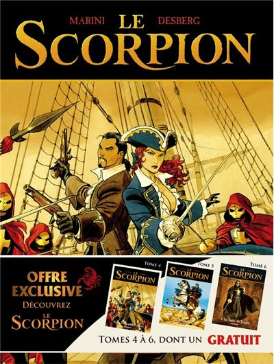 Le Scorpion - Pack 3 volumes Tome 4 à Tome 6 : Le Scorpion