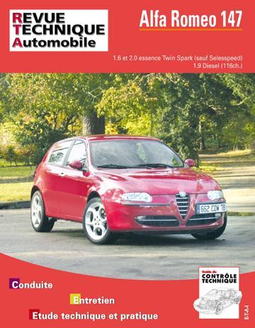 Revue technique automobile 658.1 Alfa Romeo 147 essence/Diesel