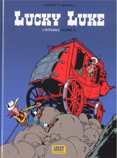 Lucky Luke - Intégrales - tome 11 - Lucky Luke Intégrale