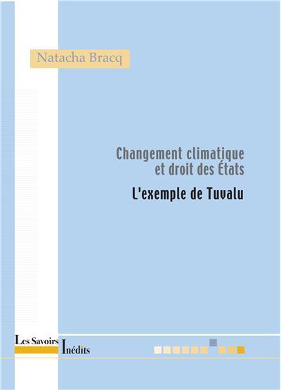 Changement climatique et droit des Etats : l'exemple de Tuvalu