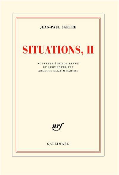 Situations (Tome 2-Septembre 1944 - décembre 1946)