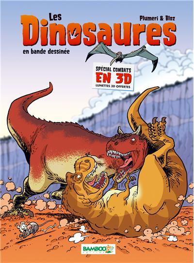 Les Dinosaures en BD Spécial combats en 3D