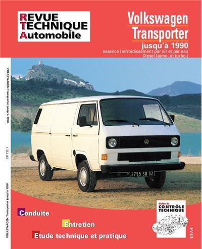 Revue technique automobile 732.1 VW Transporter essence et Diesel 79-90