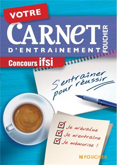 Votre carnet d'entraînement Concours IFSI