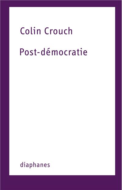 Post-démocratie