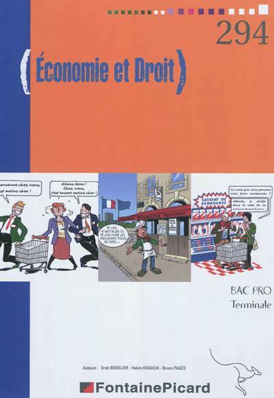Bac pro Term économie droit