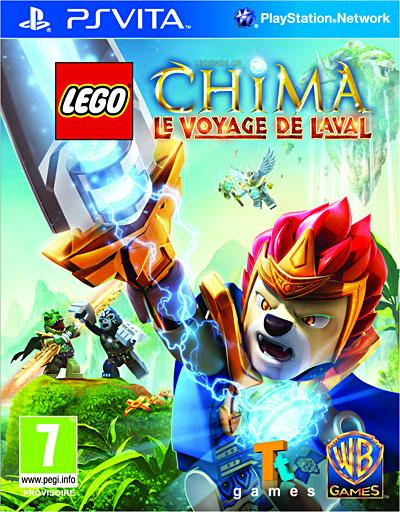 Lego Chima - Le Voyage de Laval - PS Vita