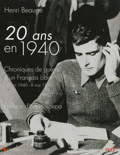 Vingt ans en 1940