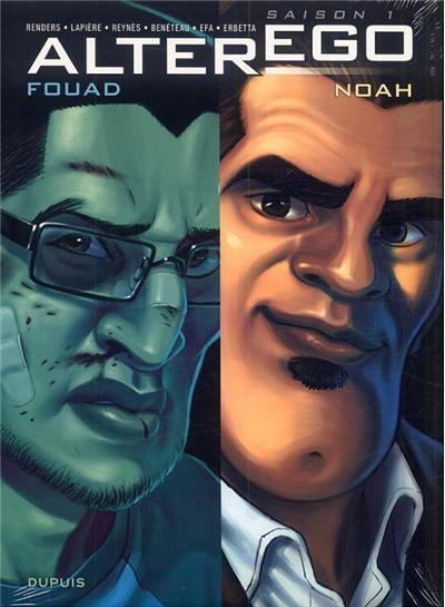 Alter ego - Fourreau 2 volumes Tome 1 : Fouad + Noah