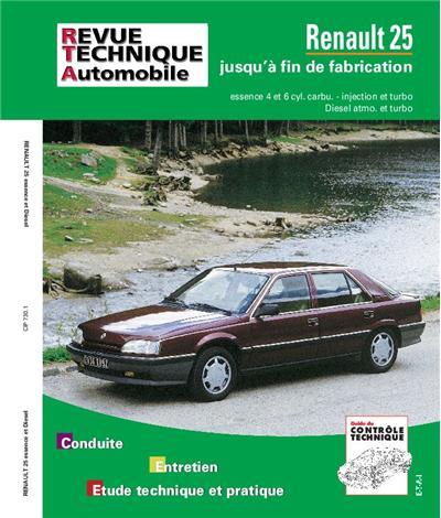 Revue technique automobile 730.1 Renault 25 essence / Diesel