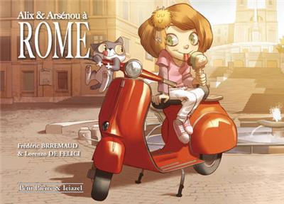 Alix et Arsénou à Rome