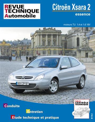 Revue technique automobile 647.1 Xsara 2 essence
