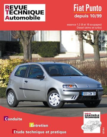 Revue technique automobile 739.1 Fiat Punto essence et Diesel depuis 10/99