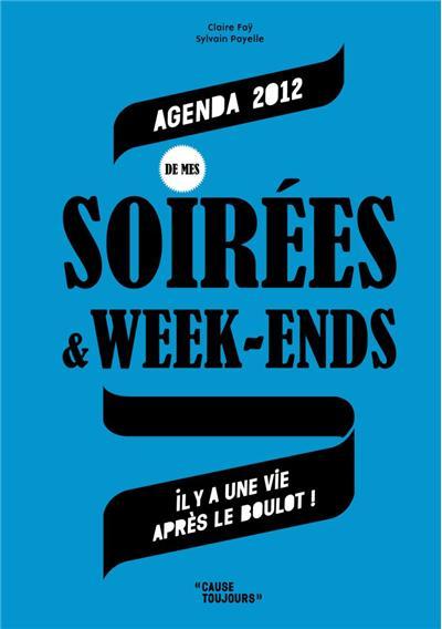 Agenda 2012 des soirées et week-ends
