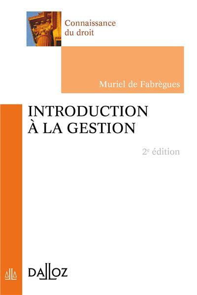 Introduction à la gestion - 3e ed.