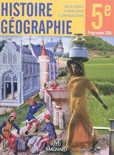 Histoire geographie 5e grand format