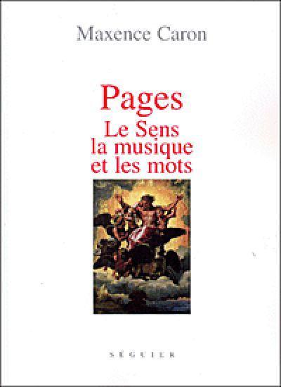 Pages - le sens, la musique et les mots