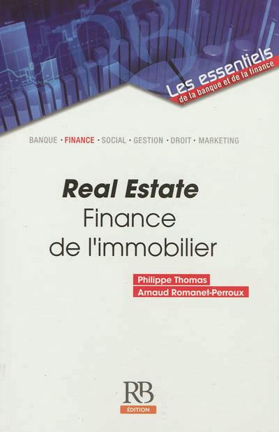 Real Estate - Finance de l'immobilier