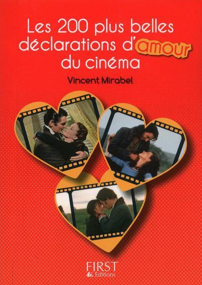 Petit livre de - 200 plus belles déclarations d'amour du cinéma