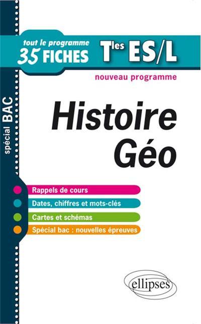 Histoire-Géographie Term ES