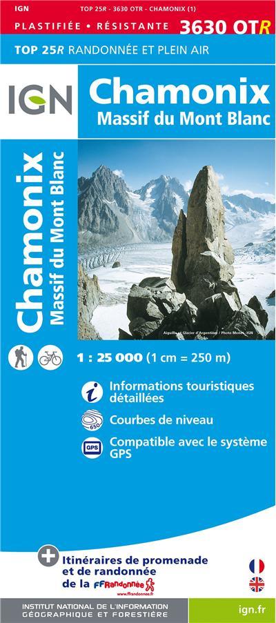 Chamonix, massif du Mont-Blanc résistante