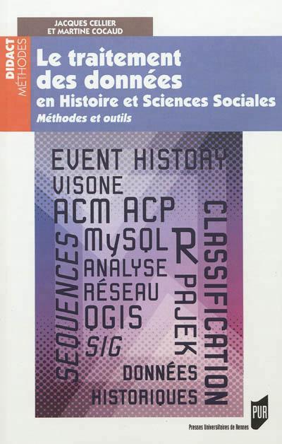 Le traitement des données en histoire et sciences sociales