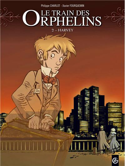 Le train des orphelins - volume 2 - Harvey