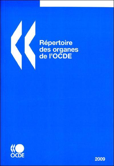 Repertoire des organes de l'ocde 2009