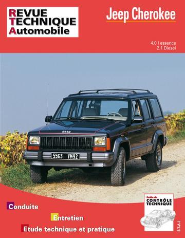 Revue technique automobile 529.2 Jeep Cherokee essence et Diesel (84-91)