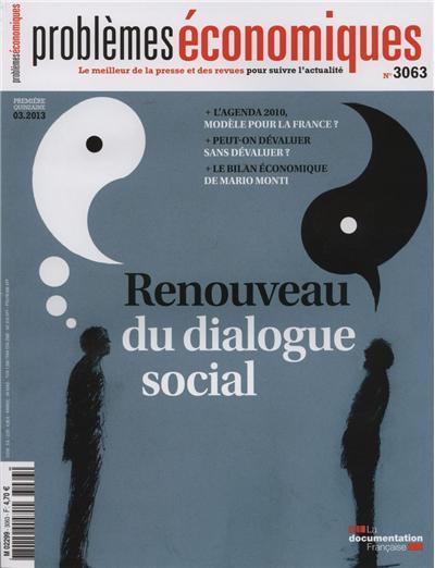 Renouveau du dialogue social