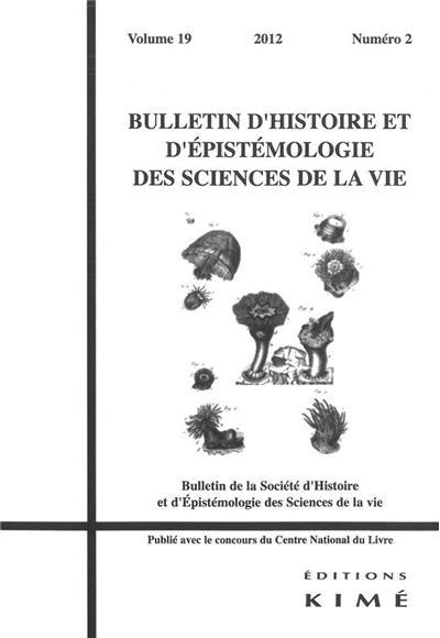 Bulletin d´histoire et d´épistémologie des sciences de la vie - Kime
