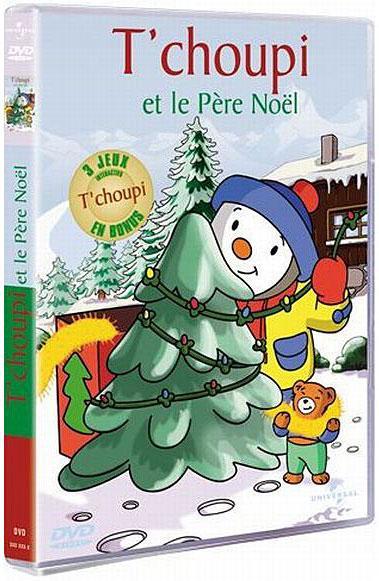 T Choupi Et Le Pere Noel Dvd Zone 2 Achat Prix Fnac