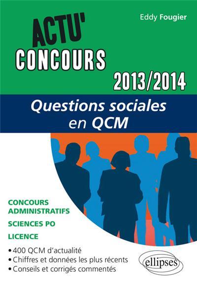 Questions sociales en QCM