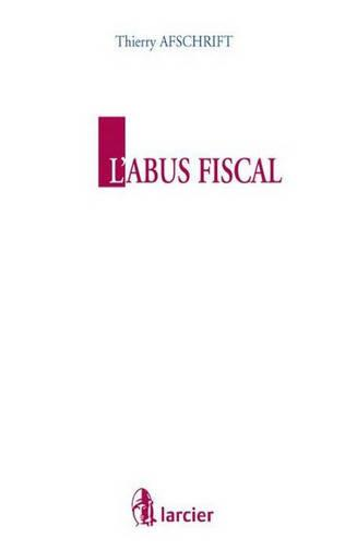 L'abus fiscal