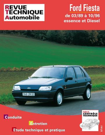 Revue technique automobile 512.6 Ford Fiesta essence-Diesel (89/96)