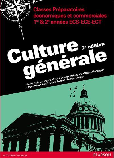 Culture generale 2e ed
