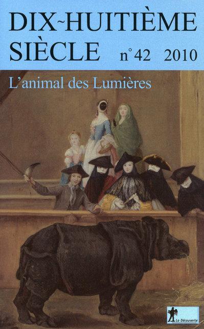 DHS 2010 - L'animal des Lumières