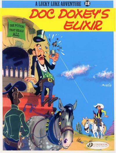 Lucky Luke - tome 38 Doc Doxey's elixir