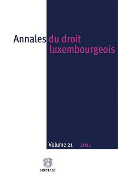 Annales du droit luxembourgeois