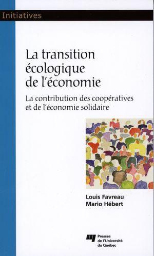 Transition écologique de l'économie