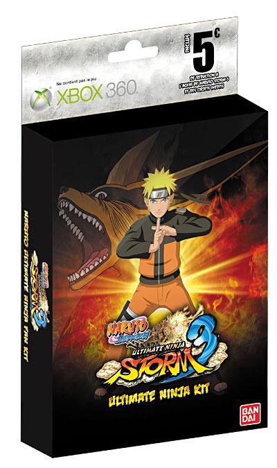 Naruto Shippuden Ultimate Ninja Storm 3 - Kit de réservation Xbox 360